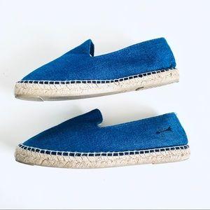 Manebi Men's Espadrille Blue